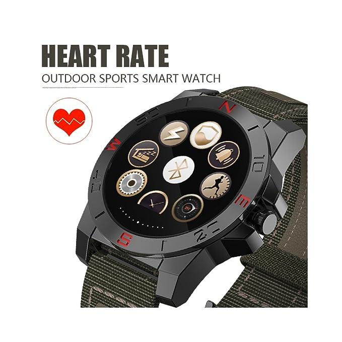 Teckey Bluetooth Smart reloj deportivo impermeable Smartband para ...
