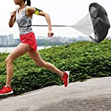 56 Inch Running Speed Resistance Umbrella Exercise Speed Training Parachute