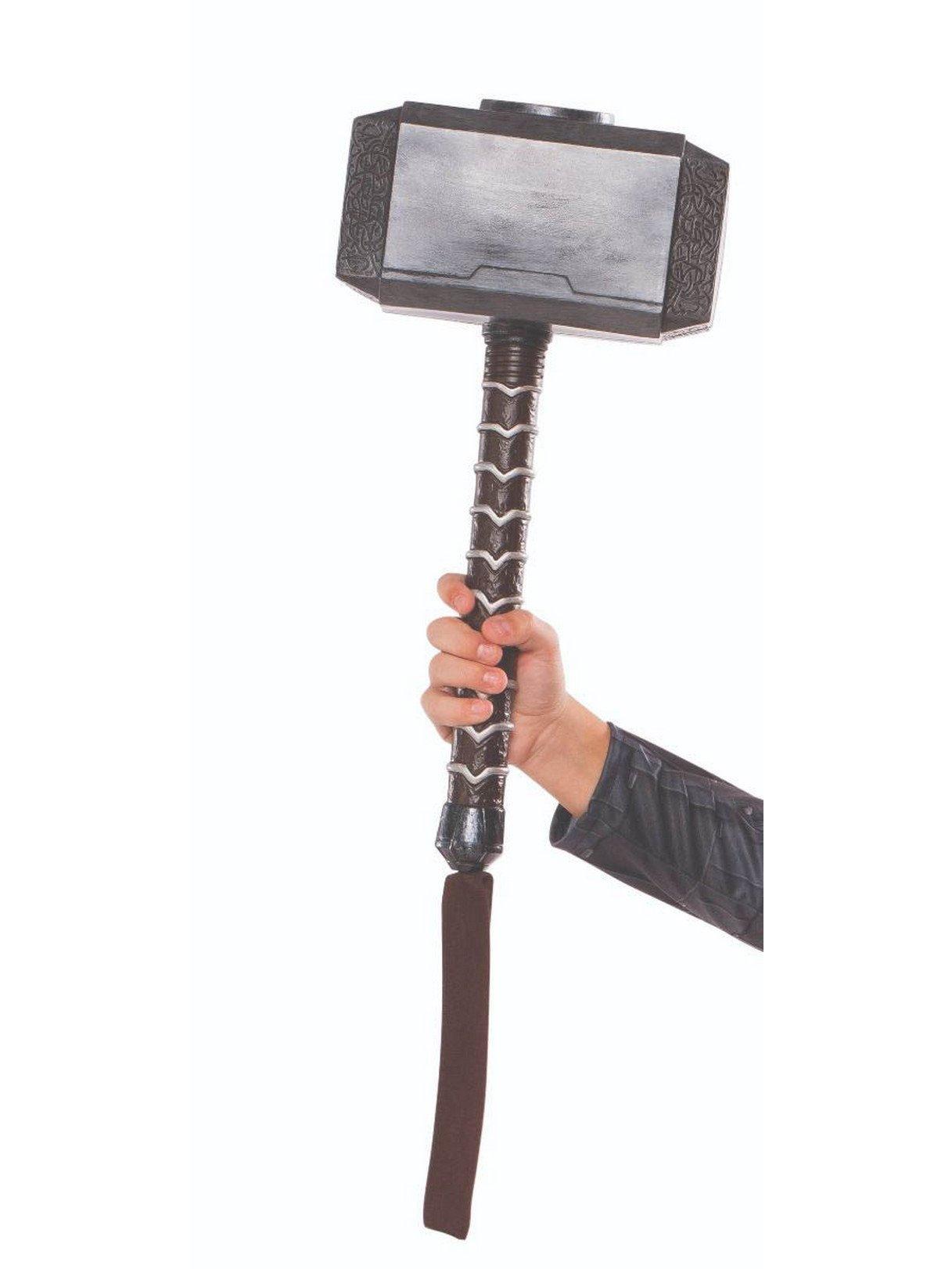 Rubie's Costume Co Men's Thor Adult Costume, Thor: Ragnarok, Hammer