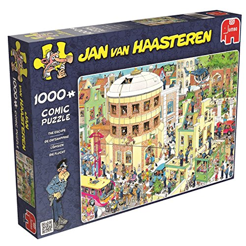 Jan Van Haasteren - The Escape! - 1000 Piece Jigsaw Puzzle