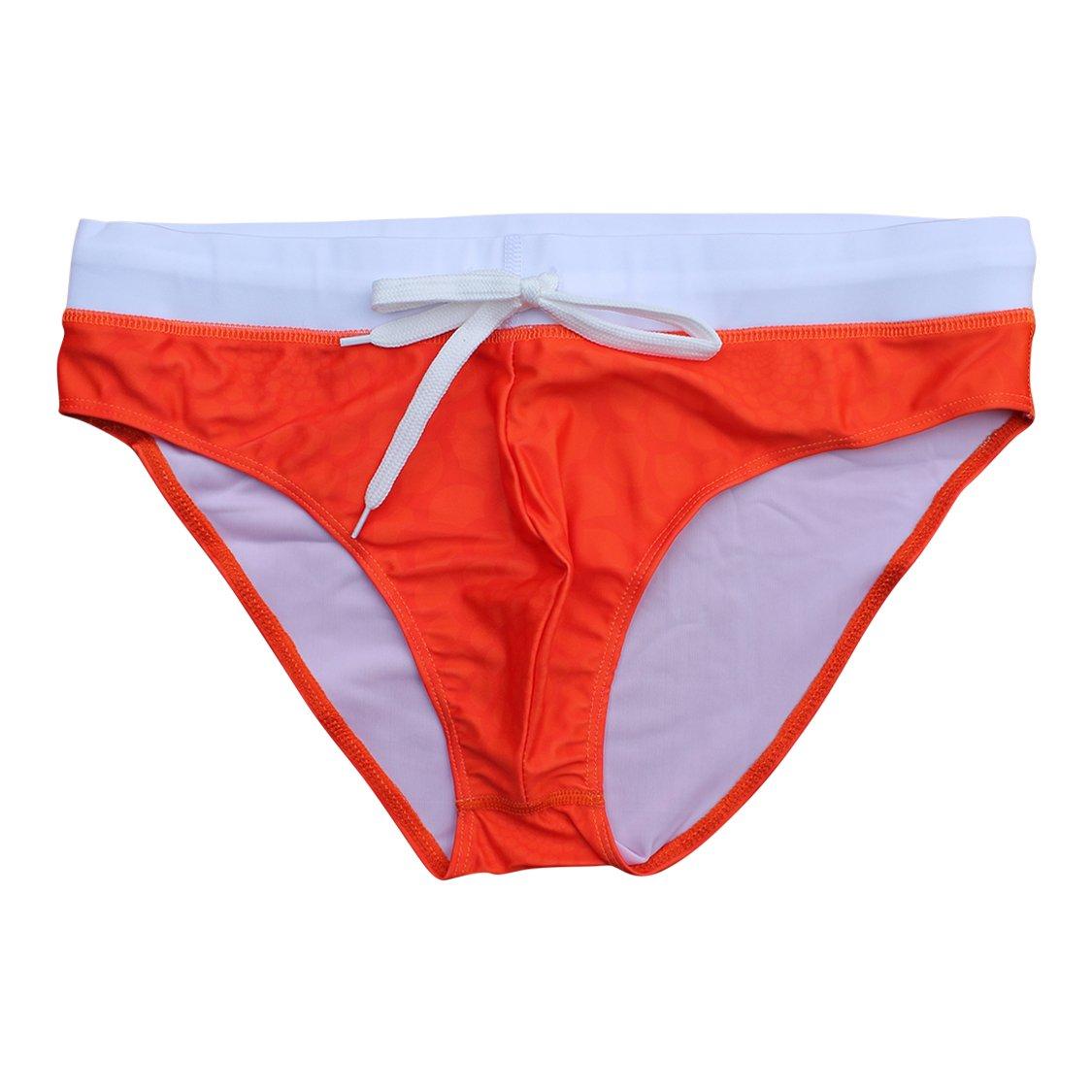 5TH INDUSTRY - 20+ Styles - Mens Swim Briefs - Orange Viper - X-Large
