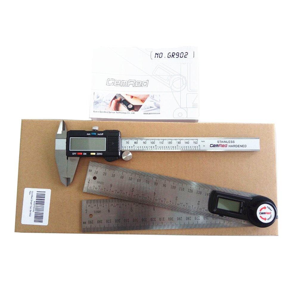 GemRed Digital Smart Tool Set GR902(Angle Finder Caliper Set902)