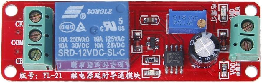 Módulo De Tiempo Retardo Interruptor De Retardo NE555 Oscilador Monoestable