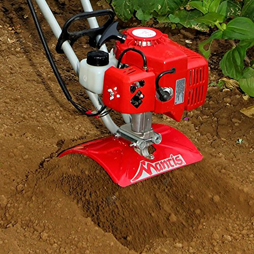 Mantis 2-Cycle Tiller Cultivator 7920 – Ultra-Lightweight – Compact, Powerful - Sure-Grip...