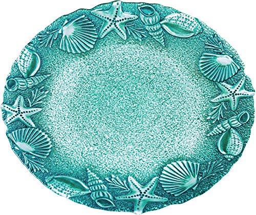 Global Amici Seashells & Starfish Round Platter One Size