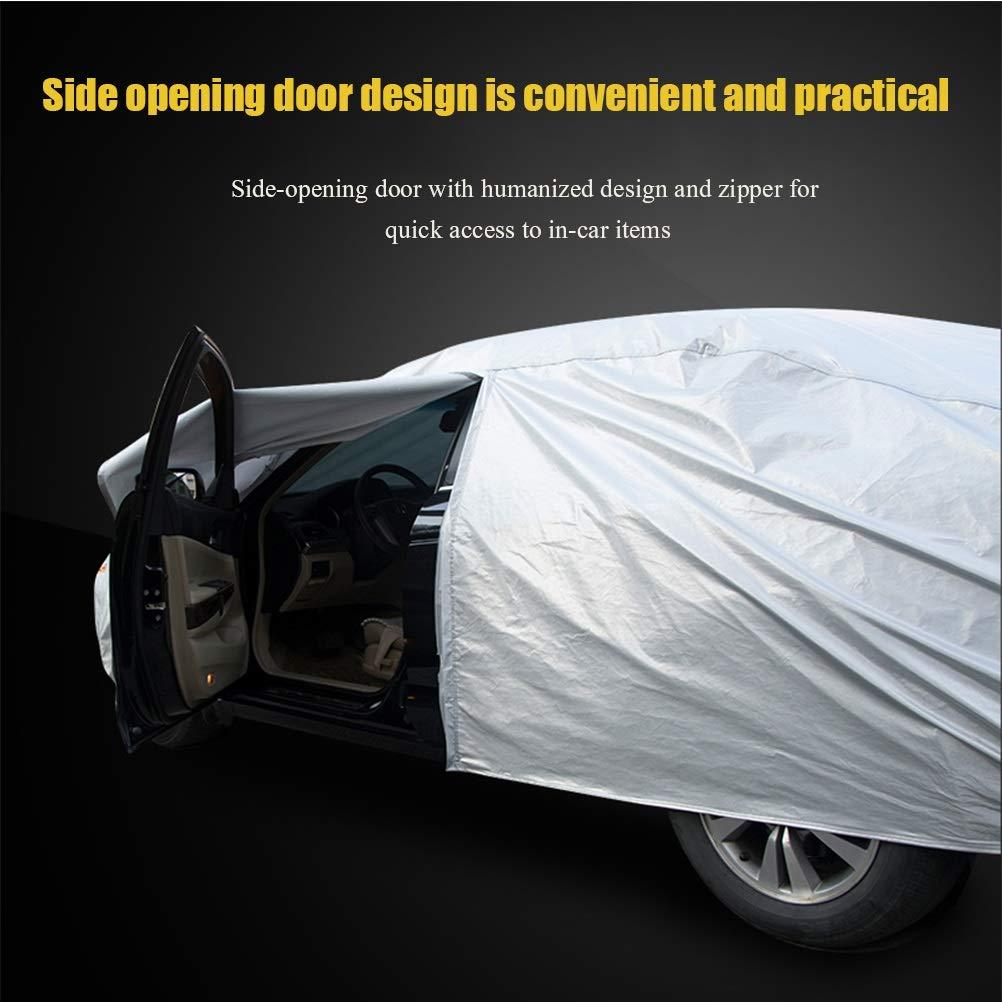 con cuatro estaciones de ropa universal Chezhao La funda Audi negra para autos al aire libre de Oxford color : Two-car se puede personalizar lluvia//sol//nieve//polvo//rayado