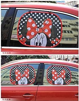 Faltbare Paar Auto Seitenfenster Sonnenblende Auto Statische Cling Sonnenschutz Besch/ützer Einfacher Gebrauch,Disney Cars