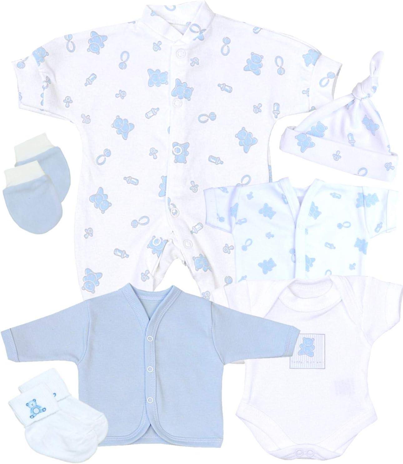 BabyPrem 7 Piece Preemie Baby Clothes Starter Pack 1.5-7.5lb PINK PREM 2
