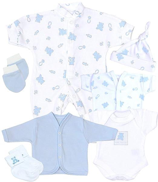 Babyprem Bebé Prematuro Juego de Regalo 7 Piezas Pijama Body Ropa ...