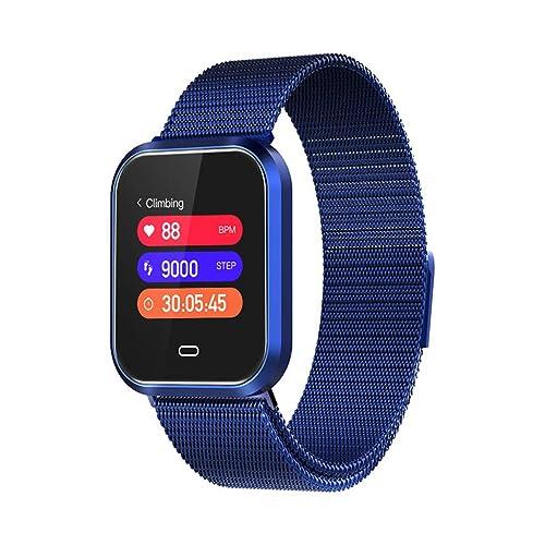 Reloj Inteligente,Hombres Reloj Inteligente Deportes Gimnasio Ritmo cardíaco Presión Arterial Calorías Resistente al Agua
