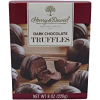 Harry & David Dark Chocolate Truffles, 8 Ounce Gift Box