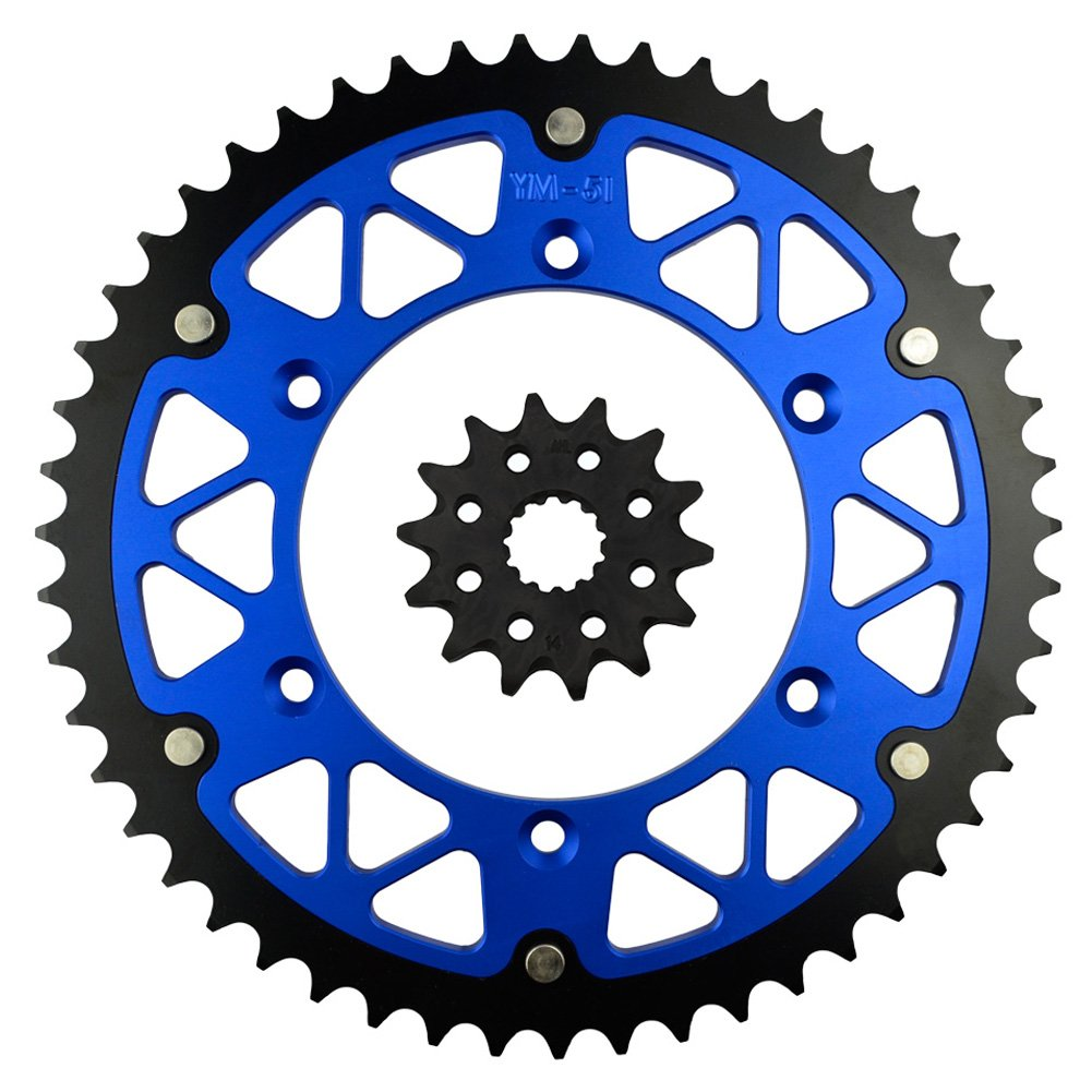 14T-47T AHL Front /& Rear Sprocket Kit for Yamaha YZ450F YZ450 F 2003-2014