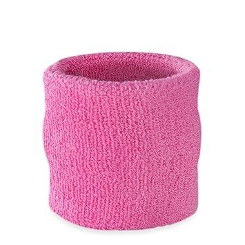 Suddora muñeca Sweatband También Disponible en Colores neón – atlético algodón paño de Terry muñequera para Deportes (1 Pieza)