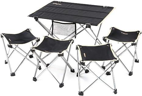 Alf Mesa y Silla de Camping 4 sillas Conjunto terraza jardín ...