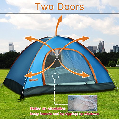 Pop Up Dome Shelter : Pop up tent by tswa automatic instant setup dome