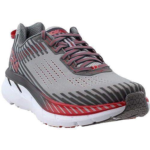 HOKA ONE One Clifton 5 - Zapatillas de Correr para Hombre, de aleación y Acero, Talla 9 M: Amazon.es: Zapatos y complementos