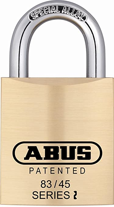 Abus Brass Padlock New Schlage C keyway Model 83//45