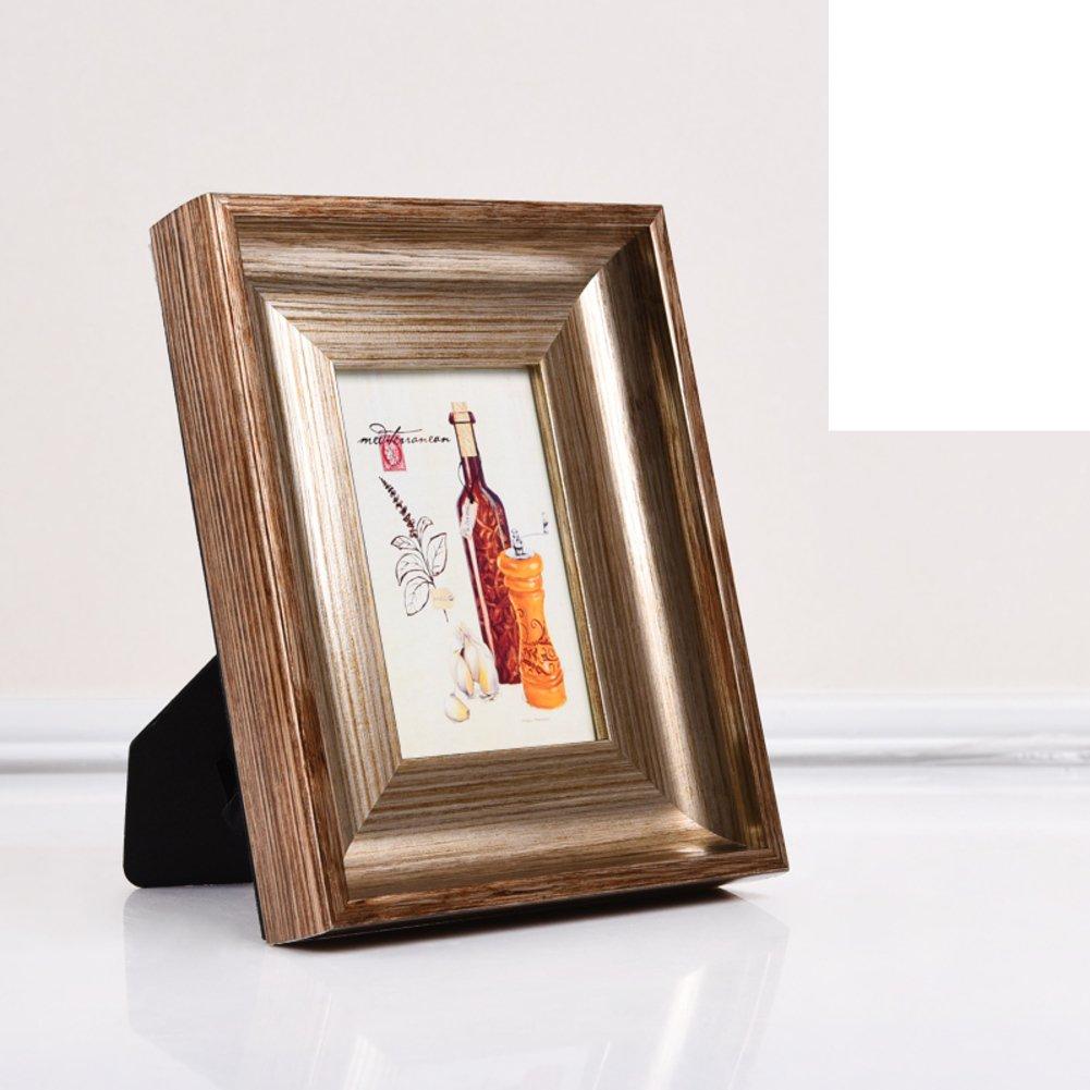 DHWJ Pared de la Foto de Estilo Europeo,Montado en la Pared Marco Creativo Foto Vintage portaretrato, Marco abatible-D 18.4x23.6cm(7x9inch): Amazon.es: ...