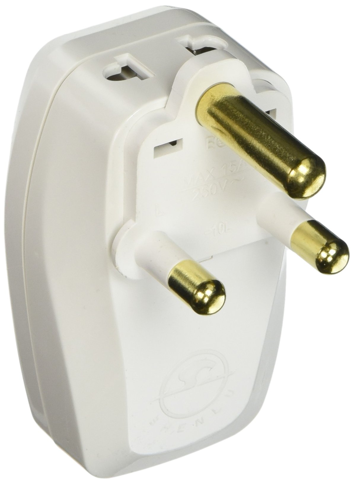OREI 3 in 1 South Africa Travel Adapter Plug with USB and Surge Protection - Grounded Type M - S. Africa & More