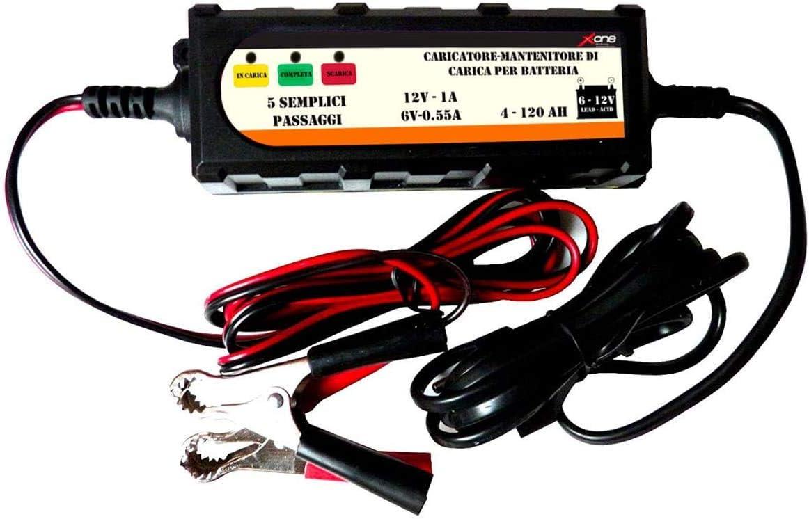 Chargeur et mainteneur de charge automatique Chargeur de batterie EF035 6 V et 12 V 4 120 Ah Honda VT C Shadow 125 99//08