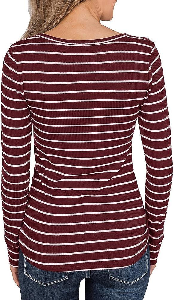 Lelili Women Sleeveless Yoga Vest Tops Casual Sport Tee Scoop Neck Thin Stripe Pullover Shirt