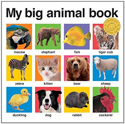 My Big Animal Book My Big Board Books by Priddy Books