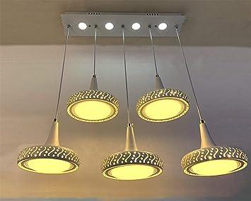 KAIRRY Lámpara Colgante LED Luz De Techo 42W con Control ...