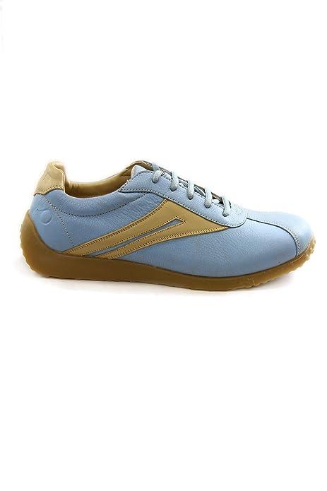 official photos ba7e5 578e1 Uomo Nose leather sneakers mod. penag2136mj18: Amazon.it ...