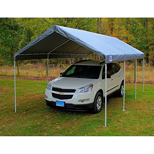 [King Canopy 10x20' Universal Canopy Silver] (10x20 Silver Canopy)
