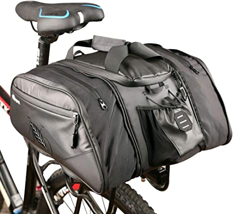 WUZHENG Bolsa De Maletero De Bicicleta -11L Paquete De Alforjas ...