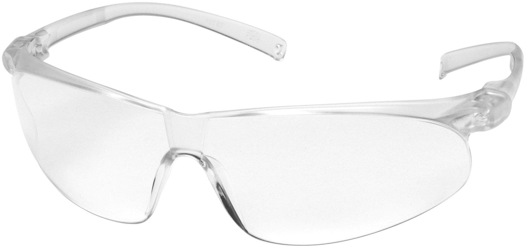 3M AO Safety/3M Tekk 11384 Virtua Sport Anti-Fog Safety Glasses, Clear Frame, Clear Lens