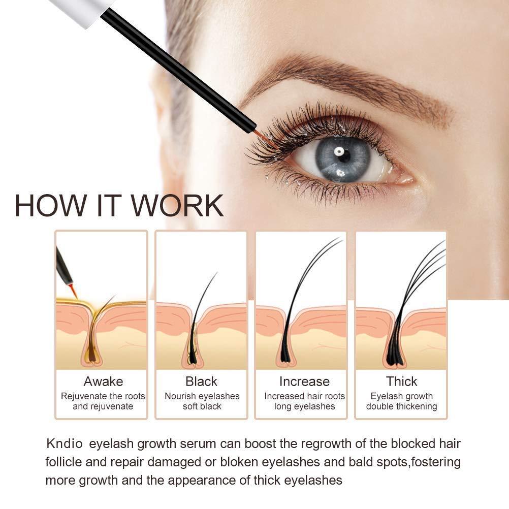 Amazon Kndio Eyelash Enhancer Serum Eyelash Growth Serum