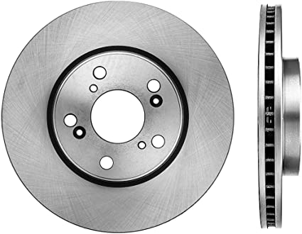 Max Brakes Front OE Series Rotors w//Ceramic Pads Premium Brake Kit KT187041 Fits 2013-2015 Mazda CX-5