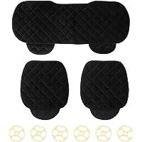 Almofadas de assento de carro dianteiro 3 unidades/conjunto de almofada de assento de carro Frente e traseiro Capas de…