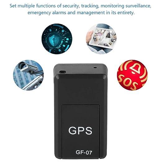 GPS Tracker,Localizador GPS con 2 potentes im/án,Sistema de Seguimiento GPS y LBS,Control Remoto de Soporte para Coche//Veh/ículo//Motocicleta,para iOS y Android Tangxi Mini Rastreador GPS