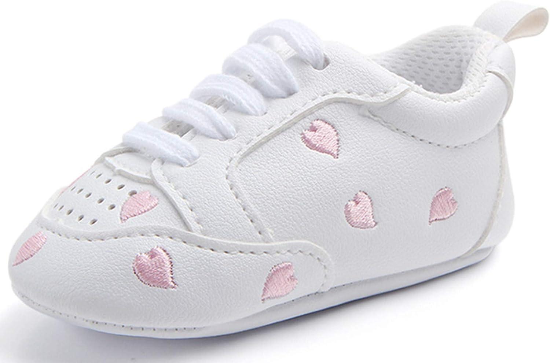 ADIASEN,Baby Unisex Shoes,Newborn Shoes,Infant Shoes,Toddler Shoes,Cute Baby Sneaker Antiskid Soft Trainer Shoes Soft Sole Shoes Anti-Slip Shoelace