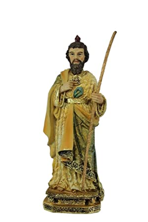 573b897ebc6 DonRegaloWeb - Figura resina San Judas Tadeo de 20 cm con caja de regalo   Amazon.es  Hogar