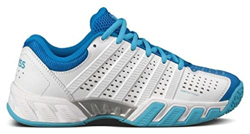 K-Swiss Bigshot Light Omni Jr Shoes – Unisex Child, White White Size: