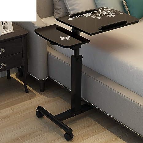Amazon.com: Mesa giratoria ajustable para ordenador portátil ...