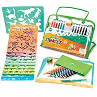 Stencils and Drawing Art Set for Kids by Creativ' Craft -...