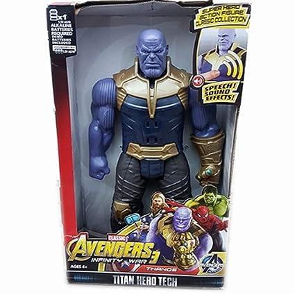 Buy Marvel Avengers Endgame Villain Thanos Figure with