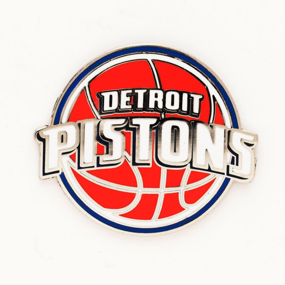 Detroit Pistons Official NBA 1 inch Lapel Pin by Wincraft