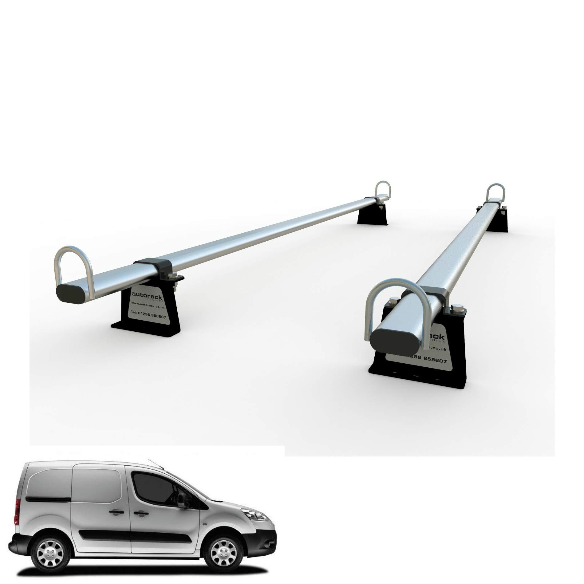 UKB4C Aluminium Roof Rack Cross Bars fits Peugeot Bipper 2008-2016 3/&4,5 door