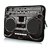 "Fit 13"" 13.1"" 13.3"" 13.4"" inch Laptop Notebook Netbook Tablet PC Sleeve Bag Case Skin Cover For Acer / Apple / ASUS / Dell / Gigabyte / HP / Lenovo / NEC / Samsung / Sony / Toshiba, Ghetto Blaster Patterned"
