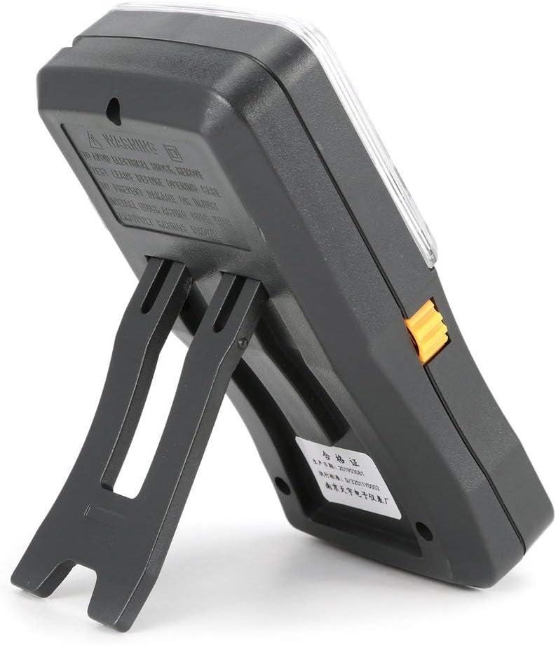 SeniorMar Mini multim/ètre analogique Portable Voltm/ètre AC//DC Amp/èrem/ètre R/ésistance Continuit/é Capacit/é Fusible /& Testeur de diodes