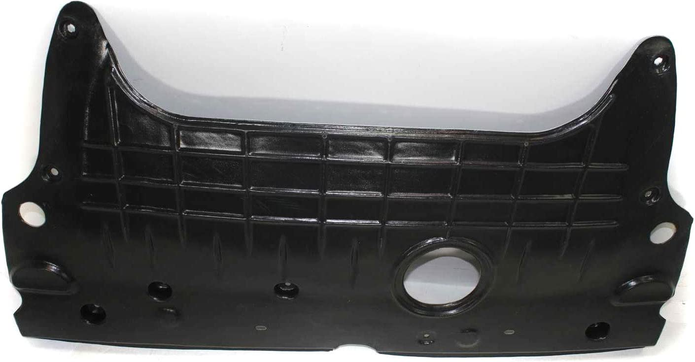 Front and Rear Engine Splash Shield Set of 2 Compatible with 2006-2007 Hyundai Sonata