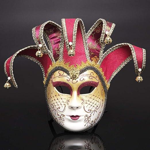 YYRZGW Máscara de Halloween, máscara de Disfraces de Carnaval de ...