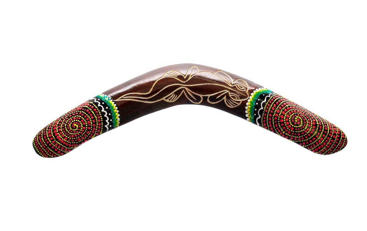 Ciffre Riesen Auswahl 40cm 30cm oder 20cm Holz Bumerang Bummerang Boomerang Deko (Kein Spielzeug) Artikel Australien Style product image