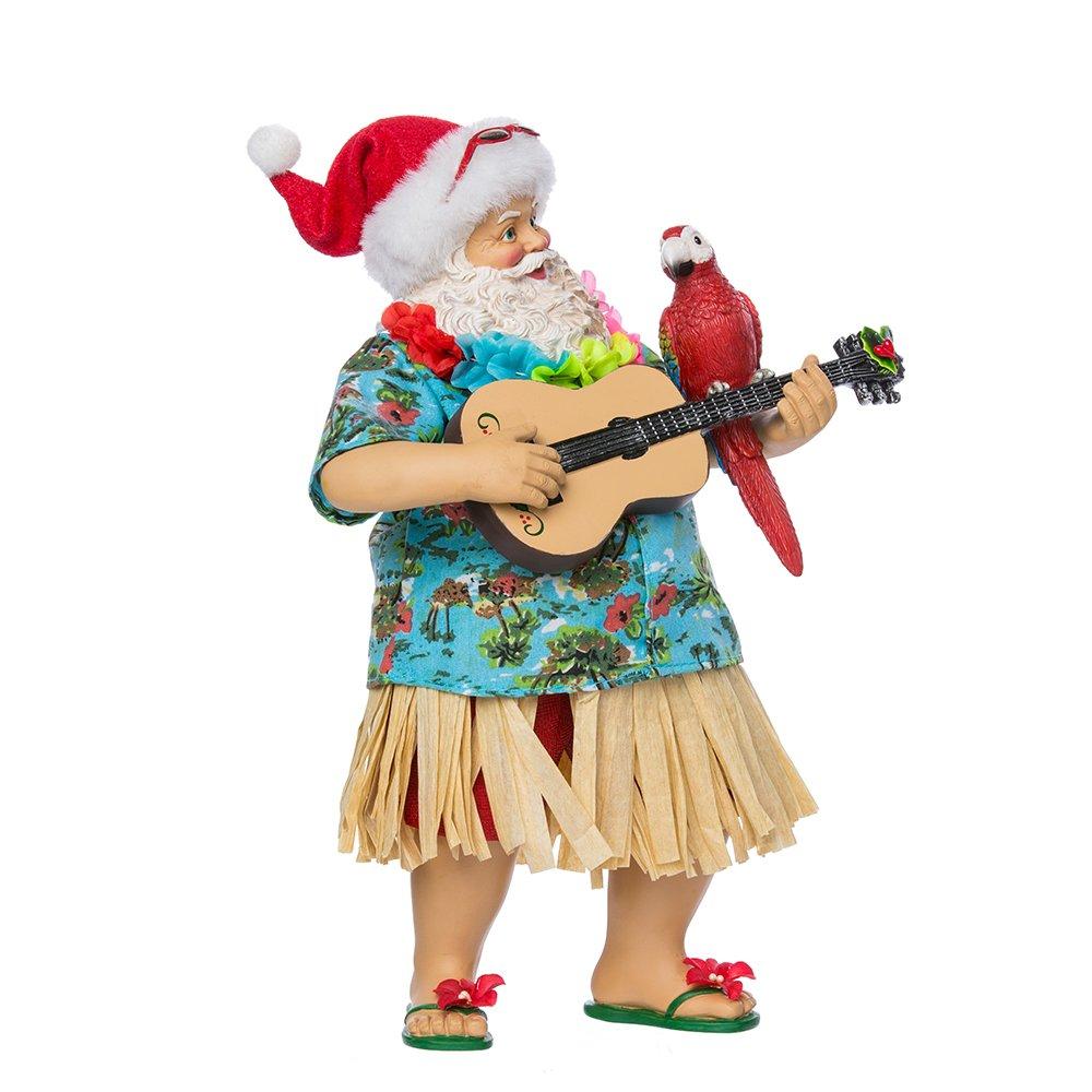 Kurt Adler 11'' Fabriche' Beach Santa