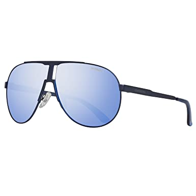 086584ed8d Image Unavailable. Image not available for. Color  Carrera sunglasses New  Panamerika IDKZ0 Metal Matt Blue Grey ...